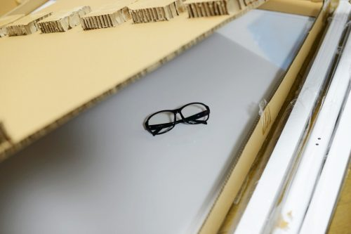 オフィスコム ホワイトボード 脚付き 両面 1200×900mm
